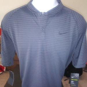 Nike Tiger woods Zonal Cooling polo. Mens Large